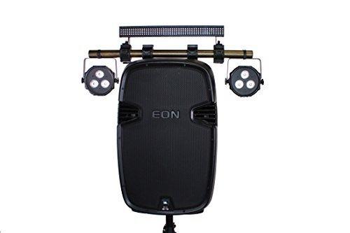 Light Bar To Speaker Attachment Kit - Alloy X1 Mini - (Gold) Works With JBL EON 515XT, 515, 510, 315, 305