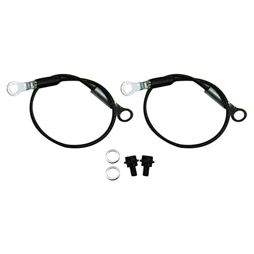 MR SHAVE Fit for Yamaha Rhino 2004-2009 Tailgate Holder Cable Kit 450 660 700