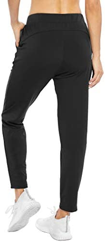 COOrun Women's Joggers Pants with Pockets High Waisted Sweatpants Lightweight Running Athletic Pants