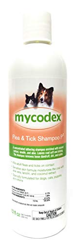 Mycodex Flea Tick Shampoo P3 (12 oz)
