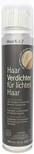 Hairfor2 Haarverdichtungsspray gegen lichtes Haar (300ml, Mittelblond)