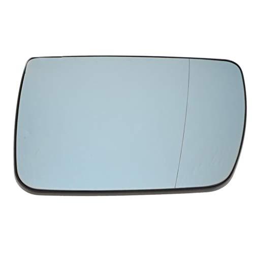 rongweiwang Linke Seite außen beheizt Rückspiegel Heizung Autoheizung Rückrückspiegel Glasersatz für E53 X5 99-06 51168408797