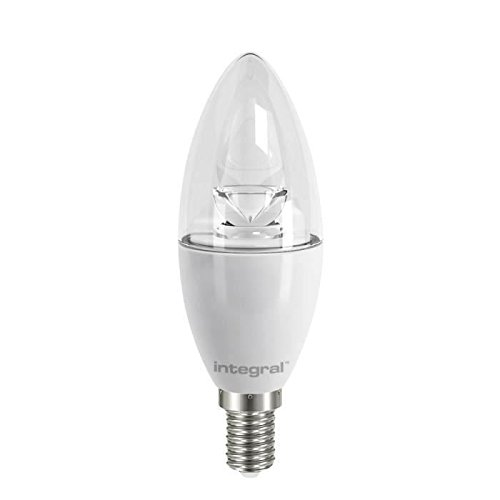 Integral - LED ILB35E14C6.0N05KBEWA 60-88-17 Ampoule LED Flamme 5.5 W E14 240 V Blanc
