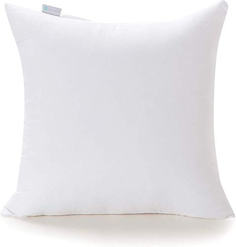28x28 White Pillow Throw Pillow Boho