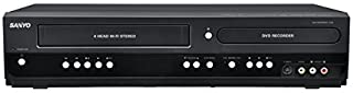 Sanyo Combination VCR and DVD Recorder with 1080p HD Upconversion (Renewed)