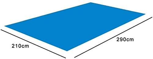 HLJ Pool Grundstück Cloth, Rechteck Pool Mat faltbare Wasserdichtes Bodentuch Pool Fußboden-Schutz leicht zu reinigen Matte for Schwimmbäder, Schlauchboote, Planschbecken, 4 Größe ( Size : 290*210CM )