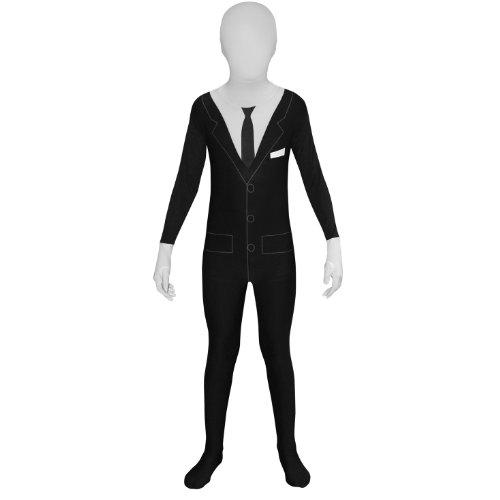 Morphsuits - Enfants Slenderman Pour Hauteur 135-152 Cm - Taille L