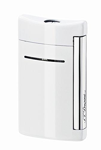 S.T. Dupont S.T. Dupont Minijet Feuerzeug,Motiv: Schwarzer Totenkopf optic white Optic White
