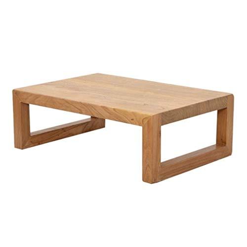 Mesa de negociación de CDingQ, muebles vintage, de una sola capa de madera de estilo japonés, mesa de té, mesa de estudio, mesa de estudio, hogar, balcón, oficina, libros, mesa de almacenamiento