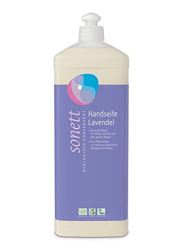 Handseife Lavendel: Basische Pflege für Hände, Gesicht und den ganzen Körper, 1 l