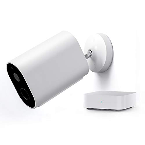 IMILAB EC2 Akku-Kamera Überwachungskameras 1080P Aussen WLAN IP Kamera Außenmonitor mit Gateway, Menschliche Erkennung, Kostenloser Cloud-Speicher, 4 Monate Akkulaufzeit