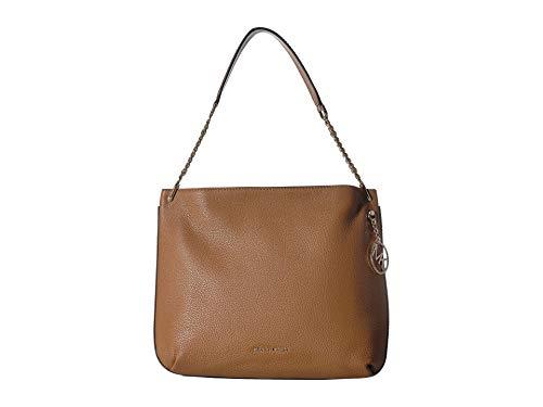 MICHAEL Michael Kors Lillie Large Leather Hobo Bag - Acorn