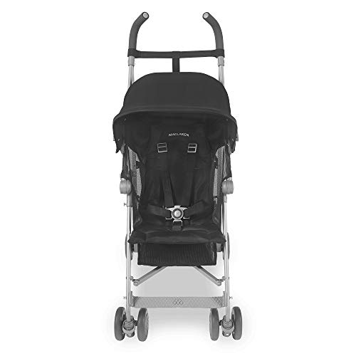 Maclaren Sherpa Stroller - Super Lightweight, Sleek, Compact, Easy to Steer, Waterproof/UPF 50+ Hood, Roomy Shopping Basket, Single Position Seat, Replaceable Parts Available