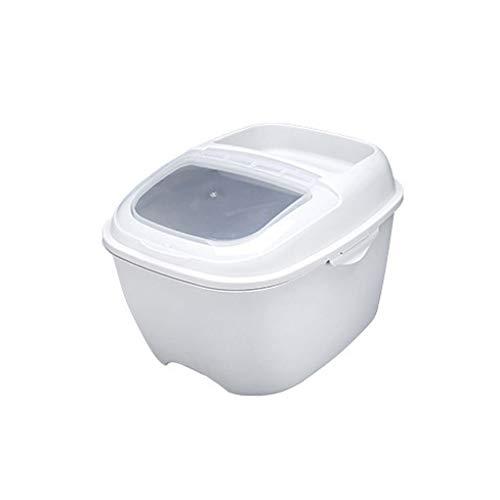 YWSZJ Copertura di Vibrazione sigillato Multi-Funzione di Cereali di Riso Benna Storage Box Cucina Domestici Dispenser Cibo Grano Container Box (Color : A)