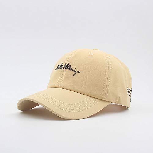 Sombrero para Estudiantes Masculinos y Femeninos, Sombrero Informal para el Sol en la Calle, Gorra para el Sol, Gorra de béisbol Coreana, Sombrero para el Sol al Aire Libre Salvaje