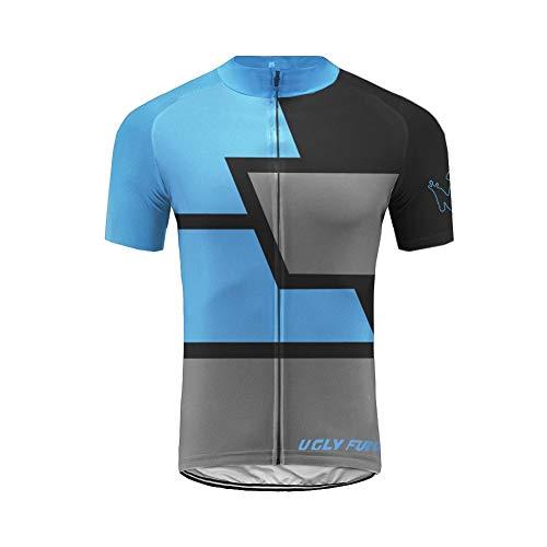 UGLY FROG 2021 Bike Wear Ciclismo Hombres Maillots Seco y Transpirable de Bicicleta Conjunto de Ropa de Ciclo Jersey de Manga Corta