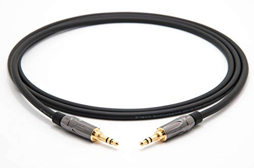 Mogami 2893 Quad HiFi Audio mini-jack kabel | Amphenol Gold 3,5 mm stereo jack (mini-jack) 0,5 m