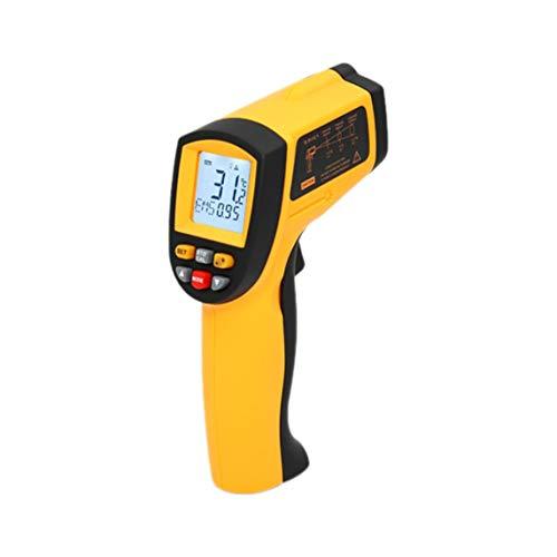 sdfghzsedfgsdfg Professionelles berührungsloses Laser-LCD-Display IR-Infrarot-Digital-C/F-Auswahl Oberflächentemperatur-Thermometer-Pyrometer