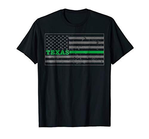 Texas Border Patrol CBP Officer Shirt CBP Flag