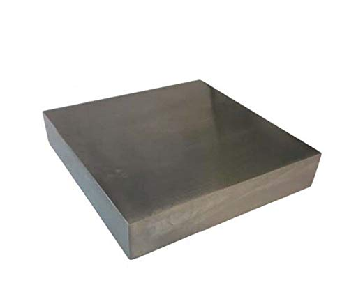 Solid Steel Metal Bench Block 4' X 3/4' X 4' Wire Hardening and Wire Wrapping Tool