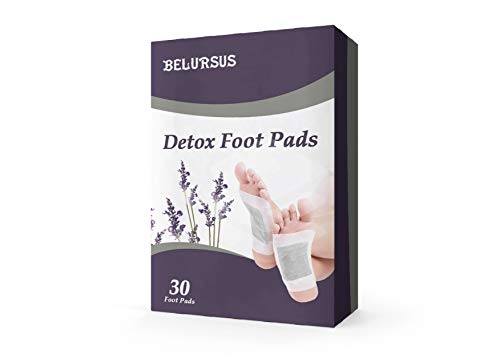 Foot Patches 30 Pack Natural Feet Patch Stress Relief Relaxing Pads for Feet Health Care AntiStress amp Sleeping Cleansing Mask