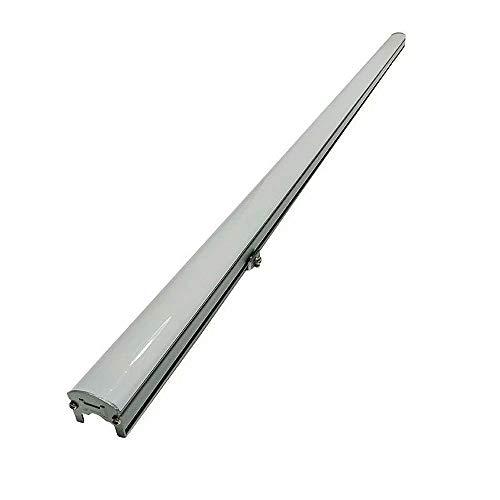 Luz de línea LED Iluminación exterior Tira de luz de puente de contorno impermeable 12W Bañador de pared exterior Reflector de luz de cambio de color de pared, luces de pared de 24 V CC