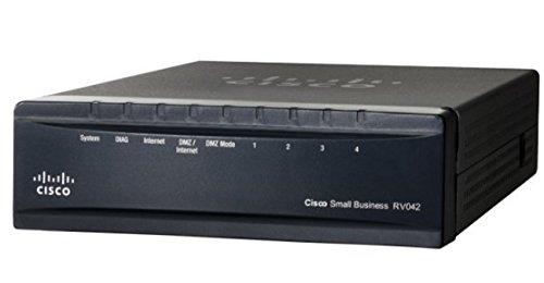 Cisco RV042-EU - Small Business VPN Router RV042 - 2 x 10/100 WAN Ports - 4 x FE Ports - IPsec VPN - Web Based Management