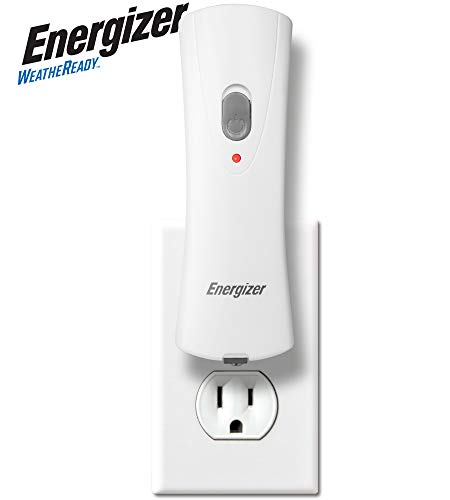 Energizer Compact Rechargeable Emergency LED Flashlight, Plug-in Power Outage Light, Portable Rechargeable Power Failure Flashlights, Great for Hurricane Supplies, Survival Kits, Emergencies