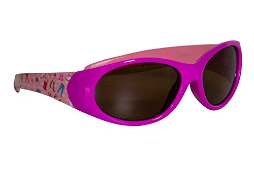 Dice Kinder Sonnenbrille, Shiny Pink, One Size