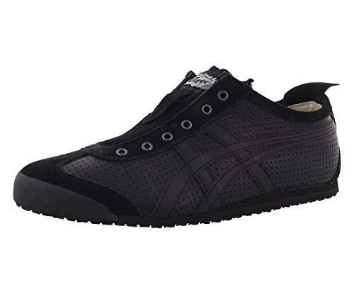 Onitsuka Tiger - - Unisex-Adult Mexico 66® Slip-On-Schuhe, 37 M EU, Black/Black