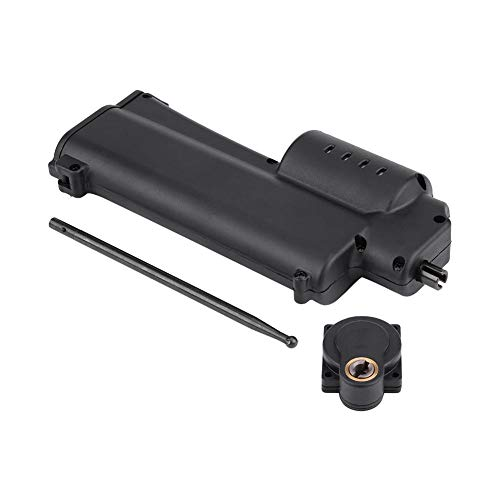 Wosune Rotor Starter, Handheld Rotor Starter, Conveniente Plástico + Metal Negro 420g Sólido Durable Eléctrico Handheld para HSP 16/18 / 21CXP Engine RC Accesorio