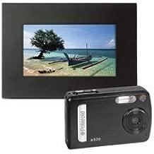 Polaroid 5.1 Megapixel Camera ( BAA-05015B) plus 7