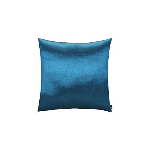 Welol Blau-Kissen Weich Ladenormal Nachgemachte Seide Kissen