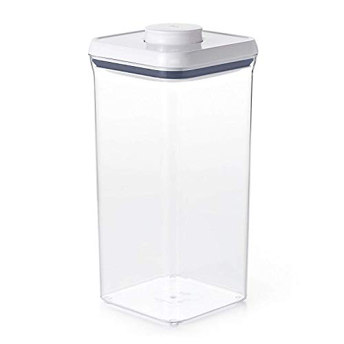 OXO Good Grips POP Square Storage Container, Big Square Lid, Tall - 5.5 Qt