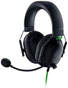 Razer BlackShark V2 X Gaming Headset 7 1 Surround Sound 50mm Drivers Memory Foam Cushion PC product image