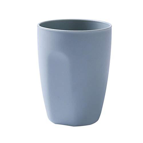 ZHANGCHI 400 Ml Diseño Simple Baño Enjuague El Diente De Lavado Taza Taza De Plástico Titub De Dientes Titular De Cepillo De Dientes Botella De Agua Accesorios De Baño