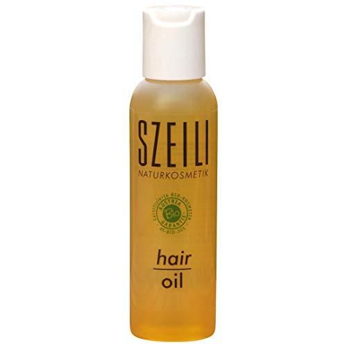 hair oil - natürliches Bio-Haaröl/Haarölkur von SZEILI Naturkosmetik mit Austria Bio Garantie