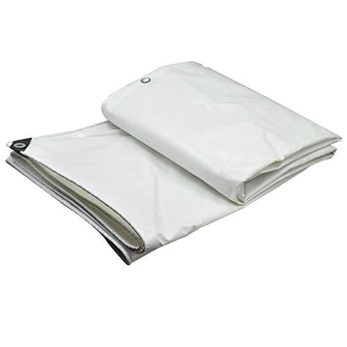 TRNCEE dik pvc-mes, krast de doek, waterafstotend, dekzeil voor zonwering, tuinzeil 2x3m (6.5ft x 10ft)