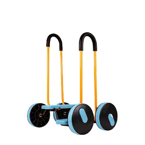 Pedal de equilibrio para niños, Tablero de tracción de entrenamiento de equilibrio con pasamanos de seguridad, adecuado para entrenamiento de equilibrio sensorial para niños en interiores y exteriores