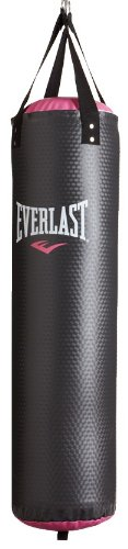 Everlast CardioBlast Heavy Bag, 40-Pound, Black/Pink