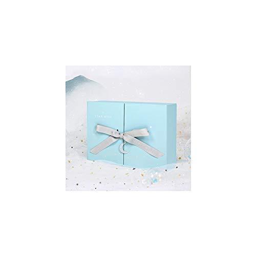 Warmhouse Caja De Regalo Azul, Caja De Regalo Romántica, Fácil De Montar, para Cumpleaños, Aniversario, Regalo De Empresa-B-M