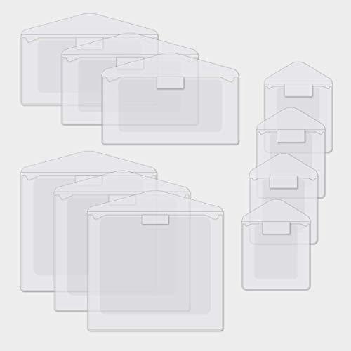 Memorabilia Pockets 10/pk Scrapbook Photo Sleeve amp Flap Sampler Pack by Creative Memories
