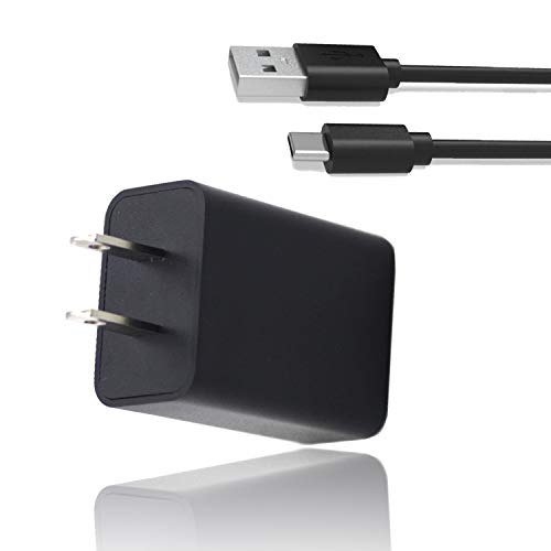 New AC Charger for JBL Charge 4 JBL Flip 5 JRPOP Speaker Peak Bluetooth Speaker Earphones-USB Type C Power Supply Wall Adapter Cord