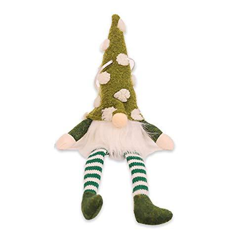 didatecar Weihnachtsanhänger, Weihnachten Anhänger Weihnachtsanhänger Weihnachtspuppe Schöne Zwerg Weihnachtsbaum Dekor Ornament