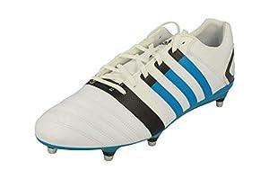 adidas FF80 Pro XTRX SG II Mens Rubgy Boots (UK 15 US 16 EU 51 1/3, White Blue M22924) by