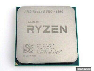 AMD Ryzen 5 PRO 4650G - Procesador (6 núcleos, 12 hilos, AM4 RX Vega 7 GPU)