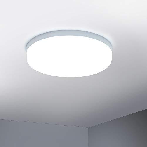 Yafido LED Deckenleuchte 36W 3240LM Neutralweiß 4500K Moderne Rund Deckenlampe Für Küche Schlafzimmer Wohnzimmer Esszimmer Balkon