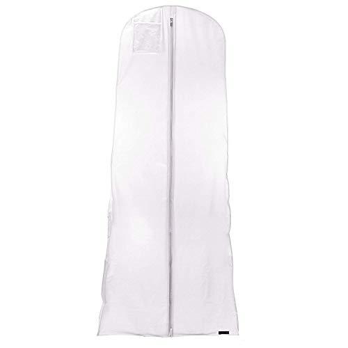 Hangerworld Lot de 10 Housses de Robe de Mariée Rose Etanche - 182cm