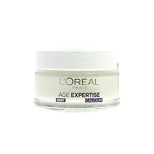 L'Oréal Paris - Age Expertise - Soin Nuit Redensifiant Anti-Rides - 55 ans+ - 50 mL