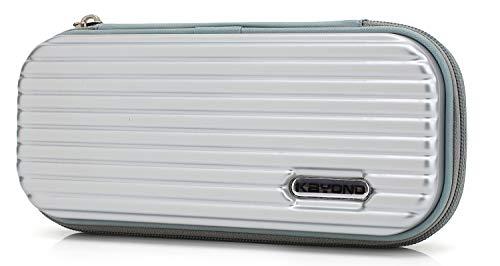 KAYOND Hartschalen-Stifteetui für Füllfederhalter, Apple Pencil, Kugelschreiber, Stylus Touch Pen grau